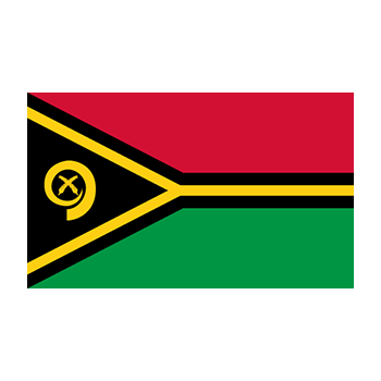 Vanuatu Bayrağı Vektör