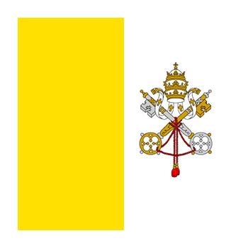 Vatikan Bayrağı Vektör
