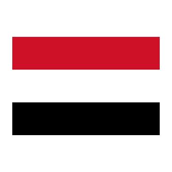 Yemen Bayrağı Vektör