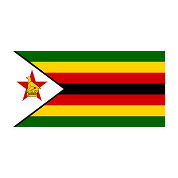 Flag of Zimbabwe Vector